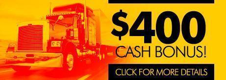 $400 Cash Bonus! Click for details.