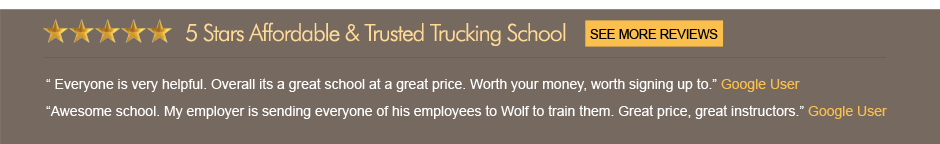 Wolf CDL Students Opinions
