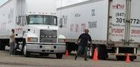Elk Grove Village truck driving training